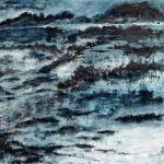 Paysages de l'oubli 4 /huile sur toile 120x120cm