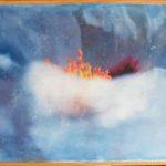 """""""Vent de nuage"""" /40x56cm (encadré)"""