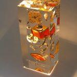 O'clock 1 /inclusion cristal de synthèse /VENDU