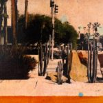 Biltmore /photographie, huile et encre/toile 20x50cm