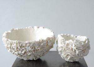 Calebasses/porcelaine