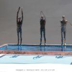 Discepoli 2 /bronze et verre