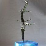 Divo /bronze et verre
