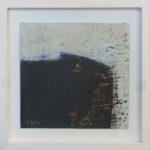 Image d'ombre III /huile sur toile 17x17cm