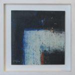 Image d'ombre VII/huile sur toile 17x17cm