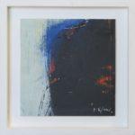 Image d'ombre VIII /huile sur toile 17x17cm
