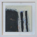 Image d'ombre VI /huile sur toile 17x17cm
