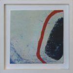 Image d'ombre I /huile sur toile 17x17cm