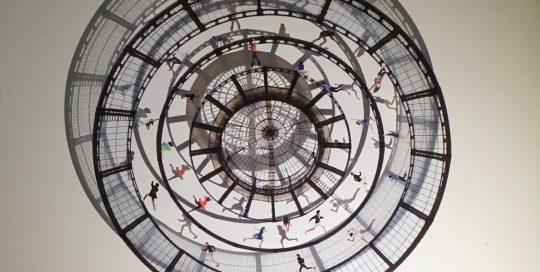 La roue tourne -Duomo /photo impression sur plexiglas 50x50cm
