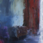 Poétique /huile sur toile 150x50cm
