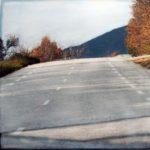 Paysage sur route 37 /30x30cm