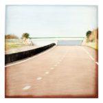 Pont 23/photographie dépigmentée/PU/60x60cm encadrée