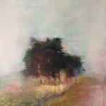 Sillon lumineux /photographie et pigments, encre 73x50cm