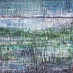Paysages de l'incs III /huile sur toile 100x100cm VENDU